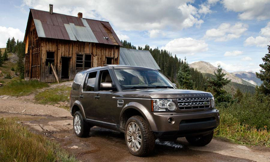 2013 Land Rover LR4 HSE Wallpaper