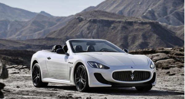 2013 Maserati Convertible Wallpapers