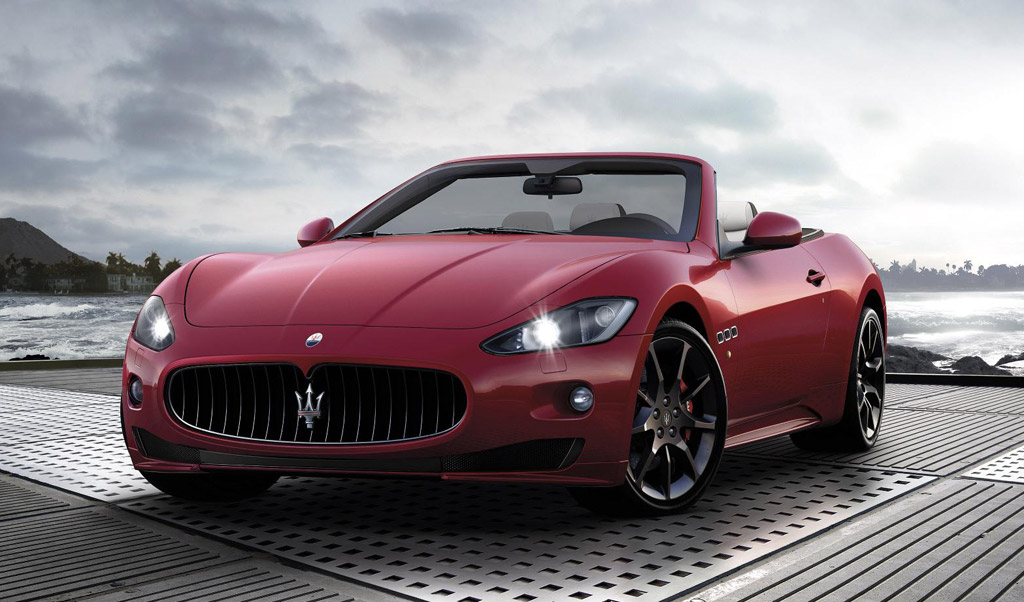 2014 Maserati Convertible Wallpapers