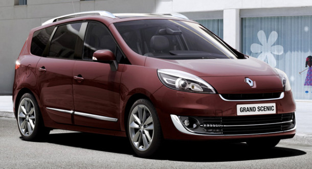 2014 Renault Scenic Redesign