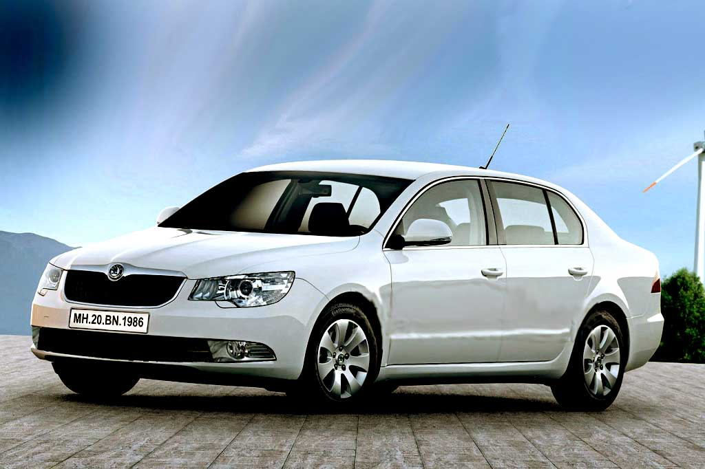 2014 Skoda Superb Wallpapers