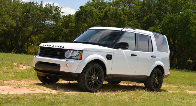 2014 Land Rover LR4 White