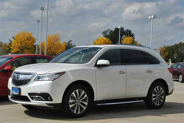 white 2014 mdx with aftermarket rims acura mdx forum. Black Bedroom Furniture Sets. Home Design Ideas