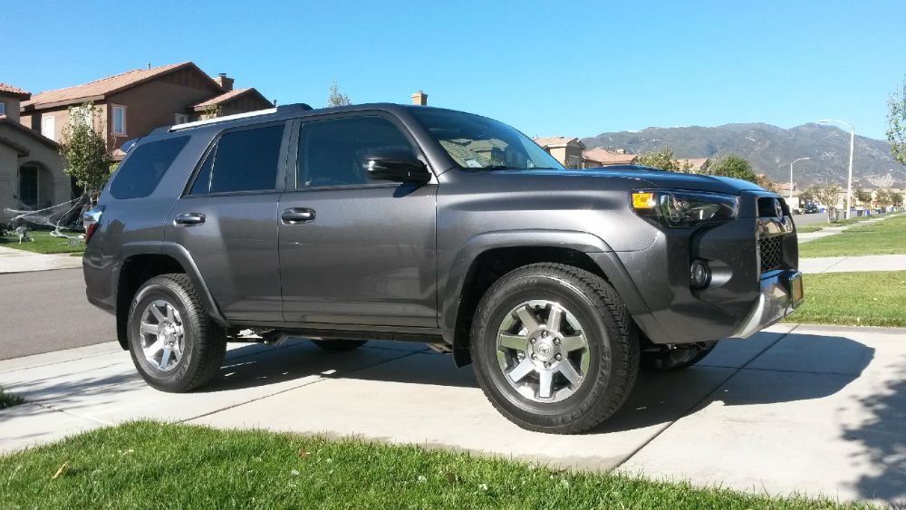 2014 Toyota 4Runner Limited Magnetic Grey