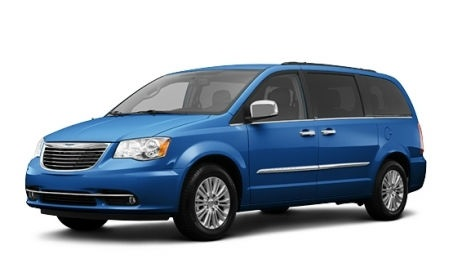 Chrysler Town and Country 2014 Blue