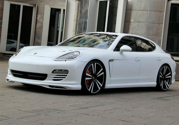 2014 Porsche Panamera Turbo White