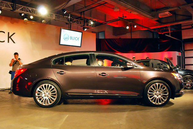 2014 Buick LaCrosse Redesign