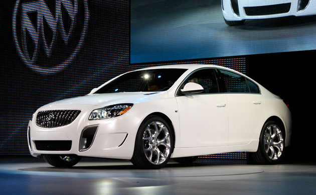 2014 Buick Regal GS White