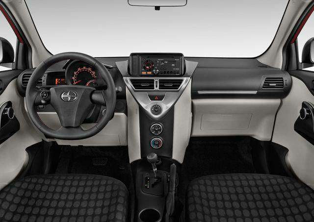 2013 Scion iQ Interior