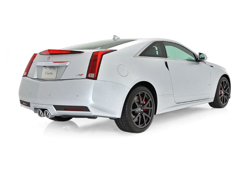 2014 Cadillac CTS V Coupe White