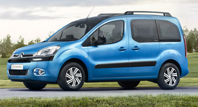 2014 Citroen Berlingo Blue