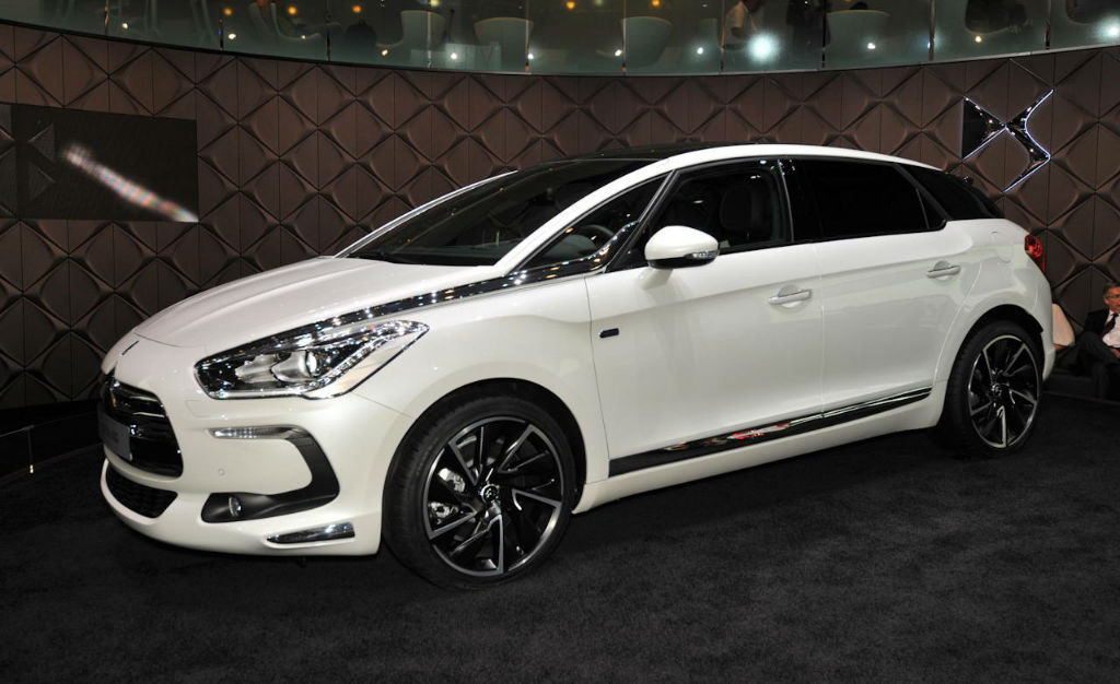 2014 Citroen DS5 White