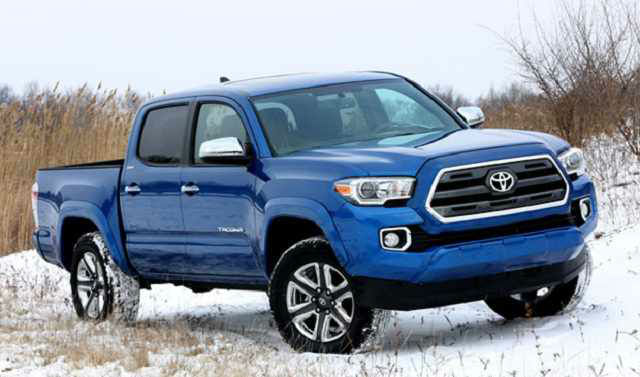 2017 Tacoma Redesign