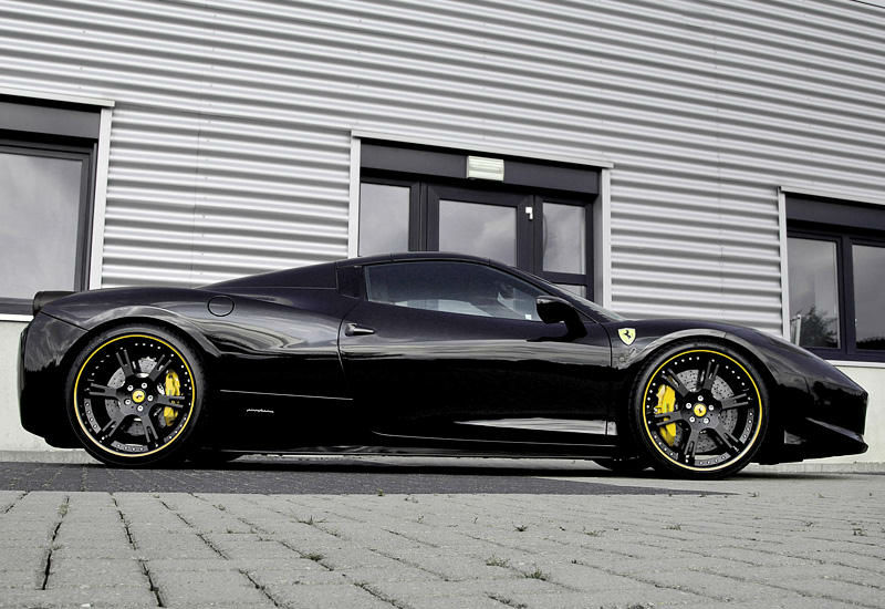 Black Ferrari Spider