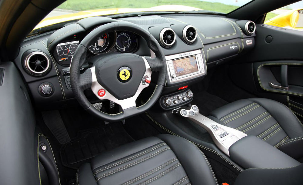 2014 Ferrari California Black Interior