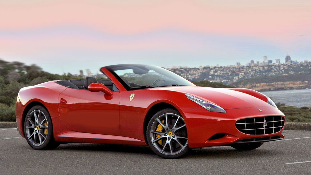 2014 ferrari california yellow - Ferrari 2014 Yellow
