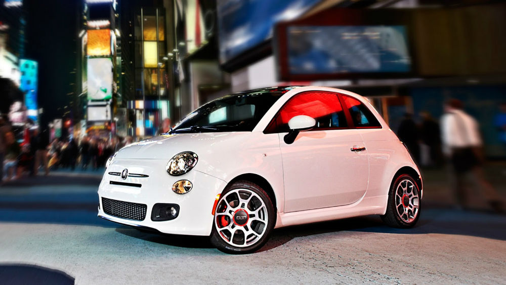 2014 Fiat 500 Turbo White