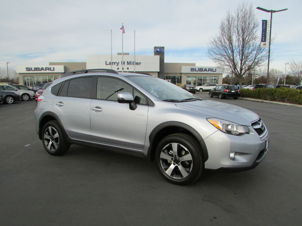 2014 subaru xv crosstrek hybrid silver. Black Bedroom Furniture Sets. Home Design Ideas