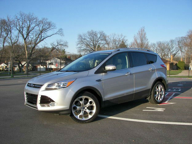 Ford Escape 2014 White New Car Update 2020