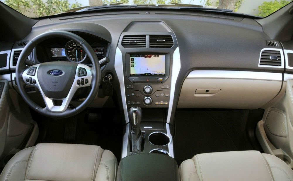 ... Ford Explorer Sport 2014 Interior ...