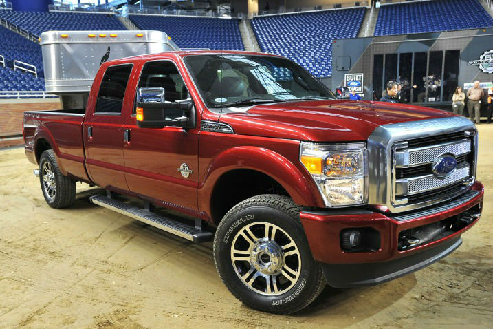 2014 Ford F250 Platinum Edition