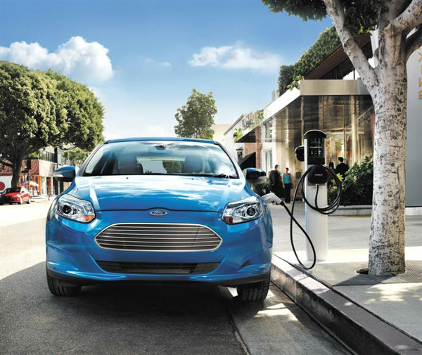 2014 Ford Focus Electric Facelift