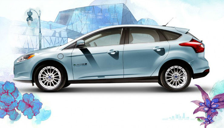 2014 ford focus electric orange. Cars Review. Best American Auto & Cars Review