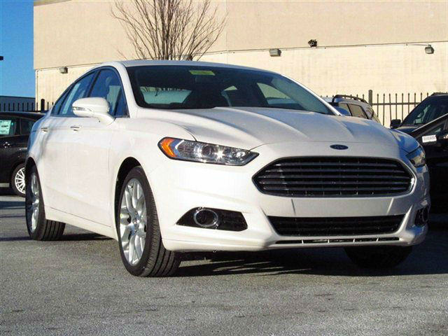 2014 ford fusion titanium white. Cars Review. Best American Auto & Cars Review