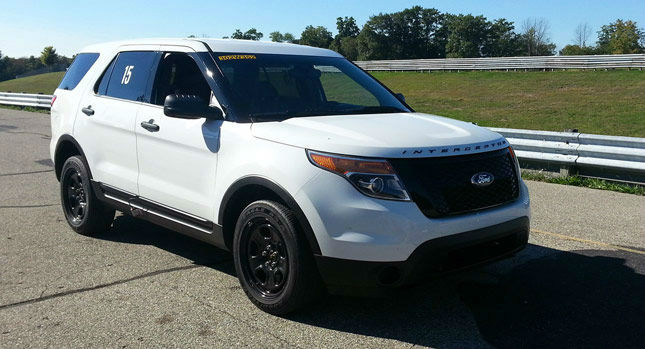 Black Ford Explorer >> 2014 Ford Taurus Sho Police Interceptor