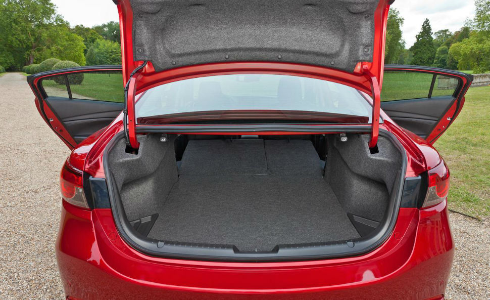 2014 Accord Hybrid >> 2014 Honda Accord Hybrid Trunk Space