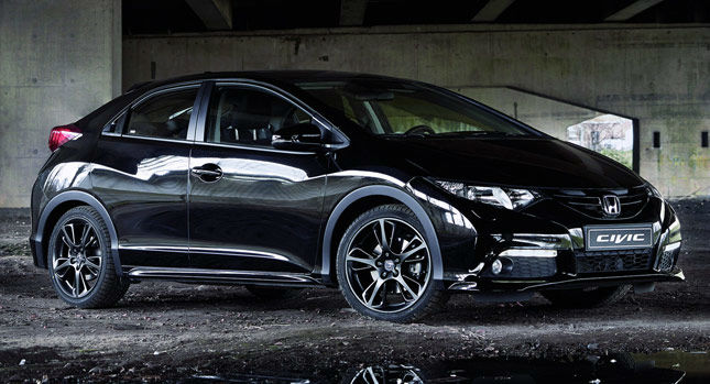 2014 honda civic si cars magazine for All black honda civic