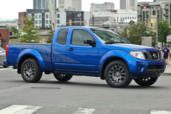 2014 Nissan Frontier Lifted
