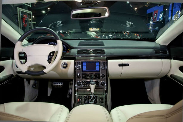 2017 Maybach 57 Interior