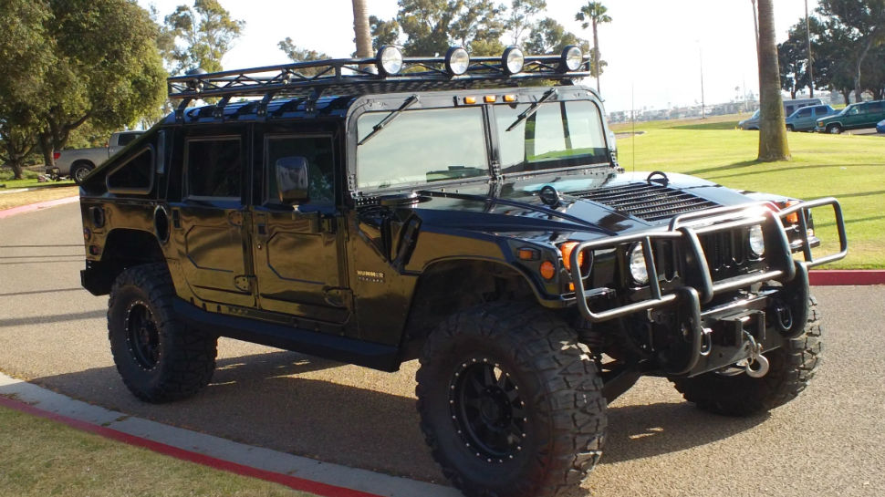Hummer h1 Alpha Lifted