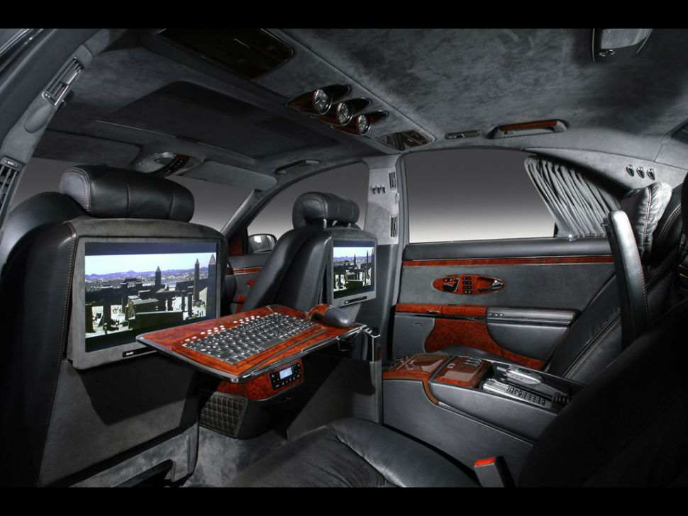 Maybach Exelero Interior