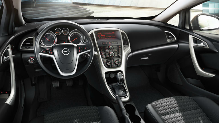 Group of Opel Astra 2014 Interior