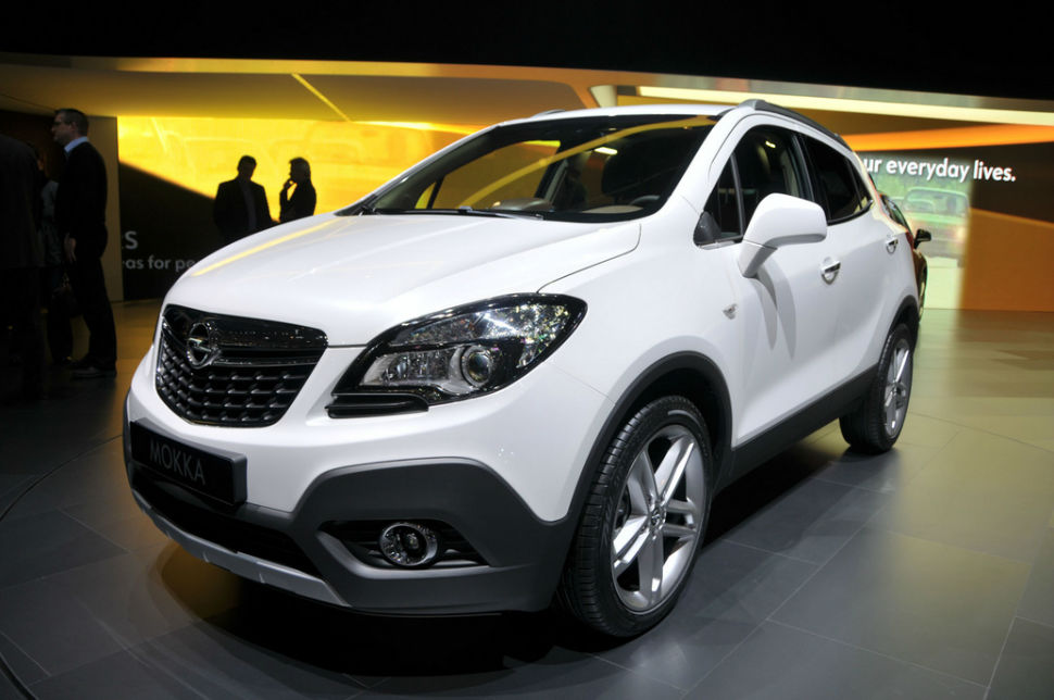 Opel Mokka Boot Space
