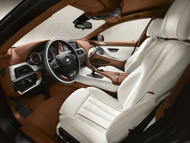 2013 BMW 6 Series Gran Coupe Interior