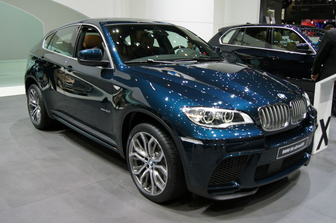 2014 Bmw X6 Blue 200 Interior And Exterior Images