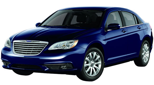 2013 Chrysler 200 Touring Blue