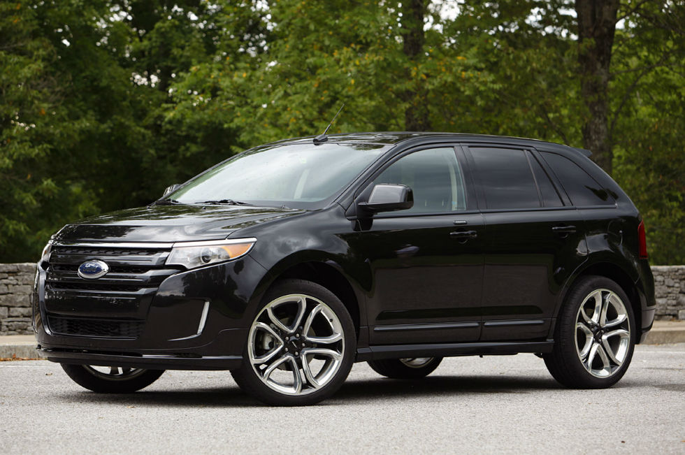 2013 ford edge sport black