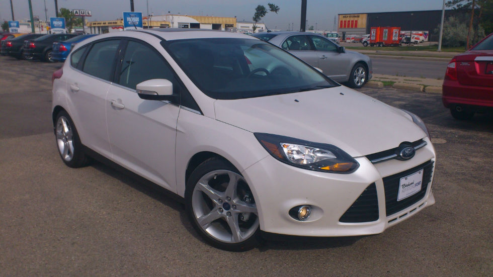2013 ford focus hatchback titanium automatic. Black Bedroom Furniture Sets. Home Design Ideas