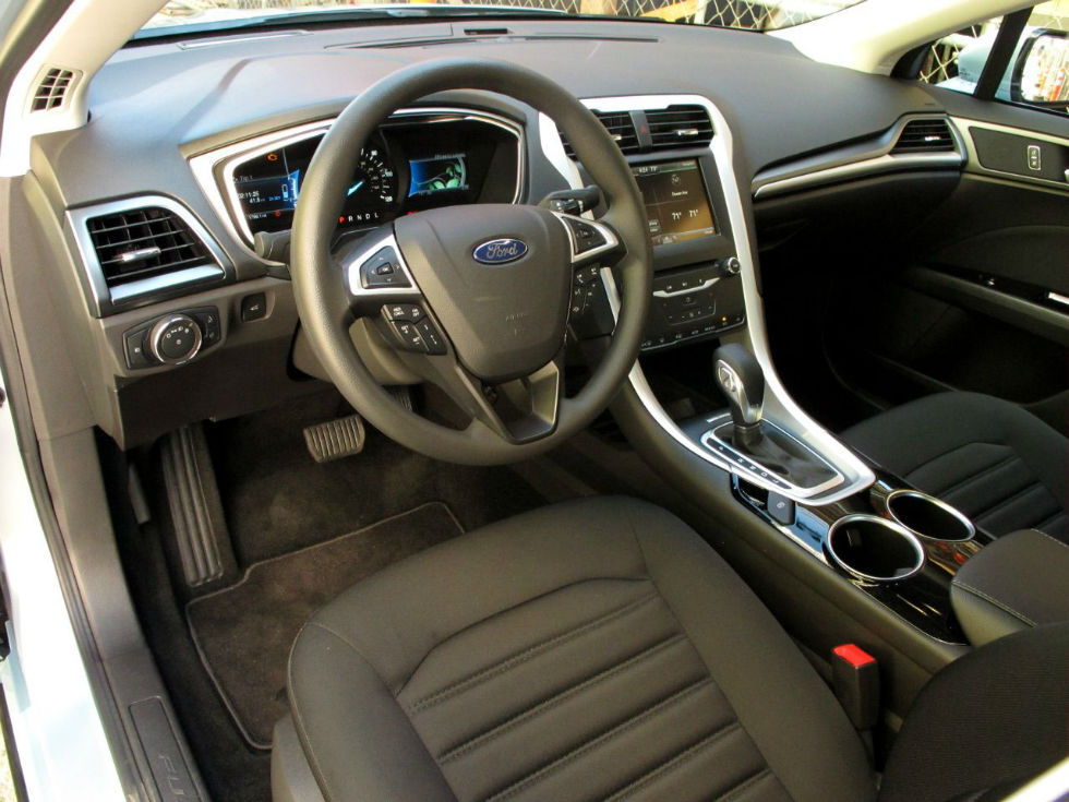 Ford Fusion Interior Color Ebony