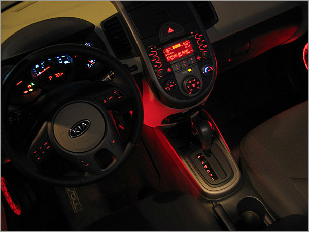 2013 Kia Soul Interior Lighting