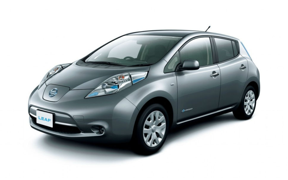2014 Nissan Leaf S Carwings