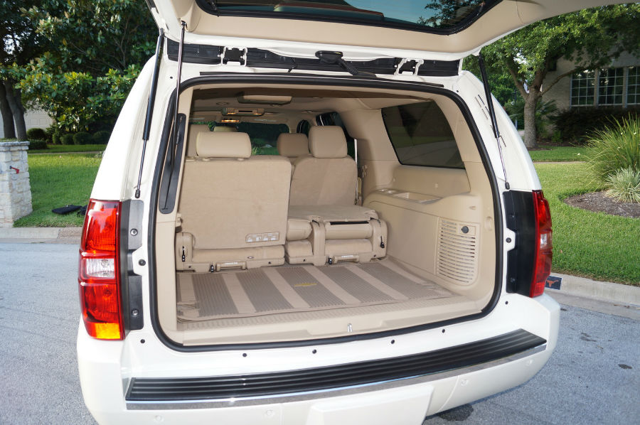 2013 Chevrolet Suburban 1500 Boot Space