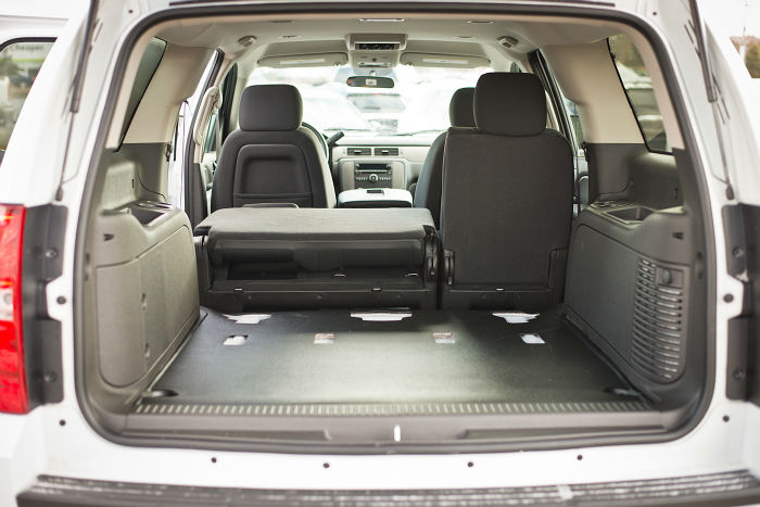 2013 Chevrolet Suburban 2500 Boot Space