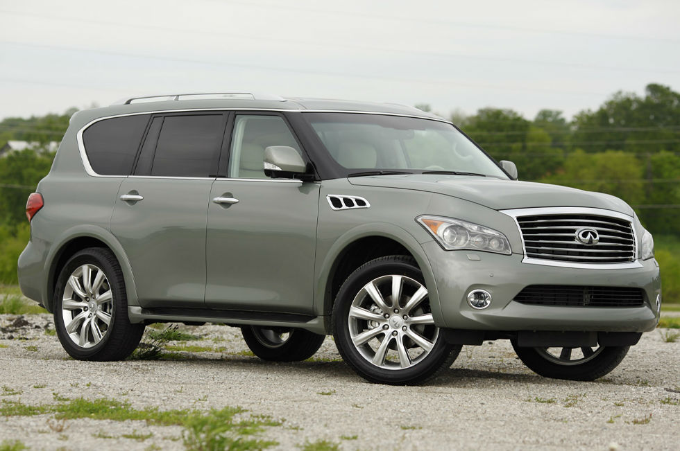 2013 Infiniti QX56 Wallpaper