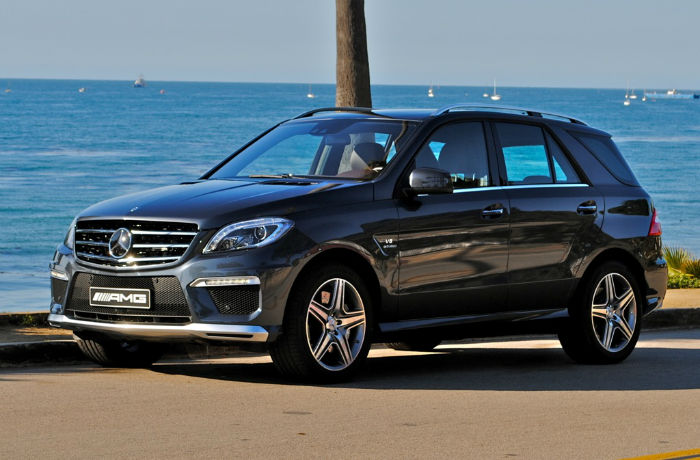 2013 Mercedes Benz ML63 AMG