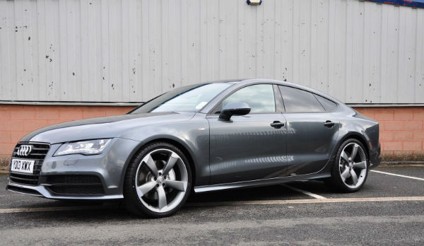 Audi A7 Black Edition Daytona Grey